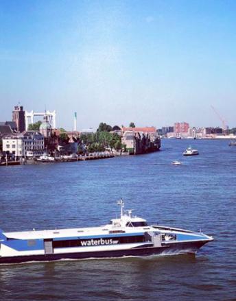 Waterbus Dordrecht Rotterdam Kinderdijk